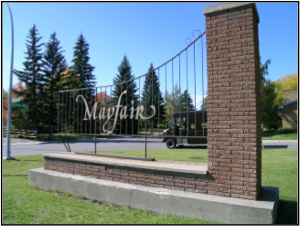 Mayfair Entrance
